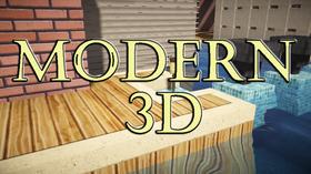 Скачать Modern 3D для Minecraft 1.11.2