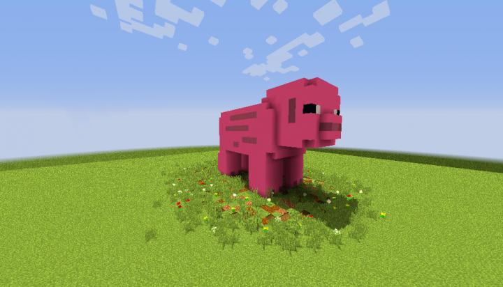 Minecraft - Pig House скриншот 2