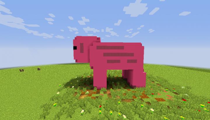 Minecraft - Pig House скриншот 3