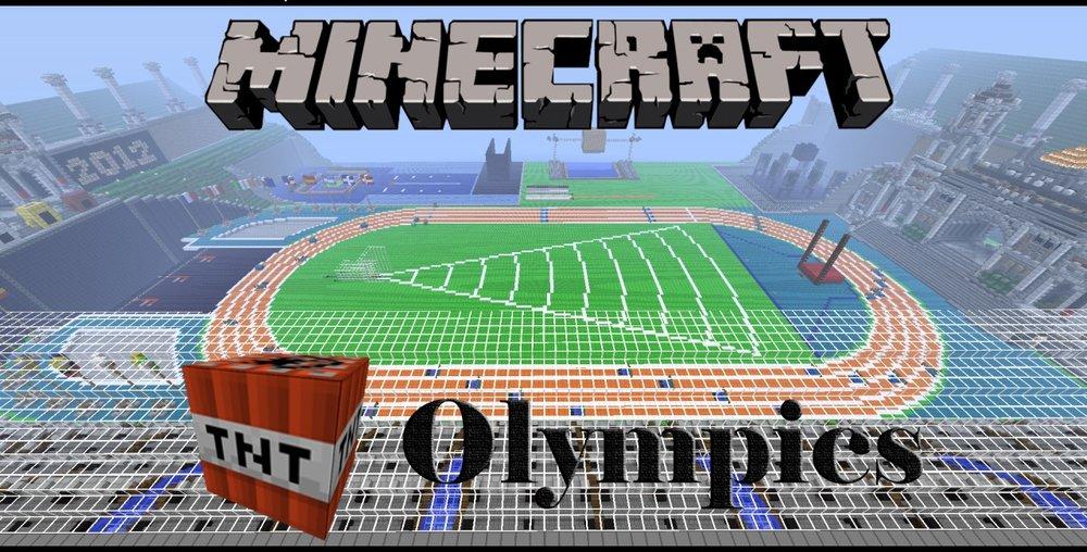 SethBling's Minecraft TNT Olympics скриншот 1