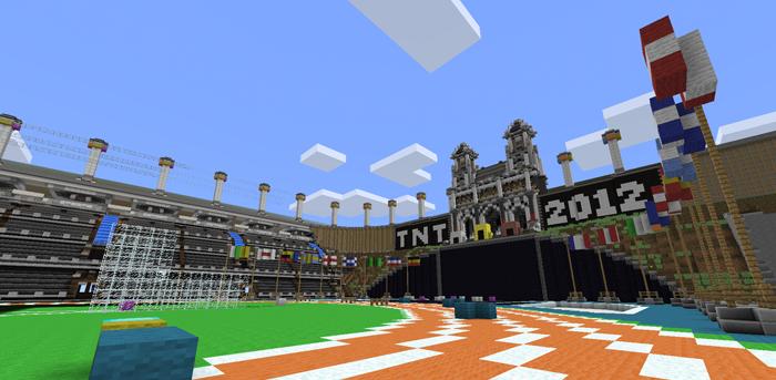 SethBling's Minecraft TNT Olympics скриншот 2