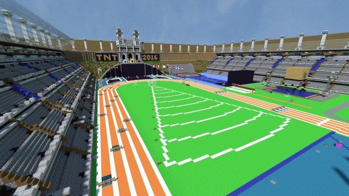 SethBling's Minecraft TNT Olympics скриншот 3