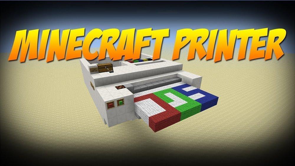 100% Working Redstone Printer скриншот 1