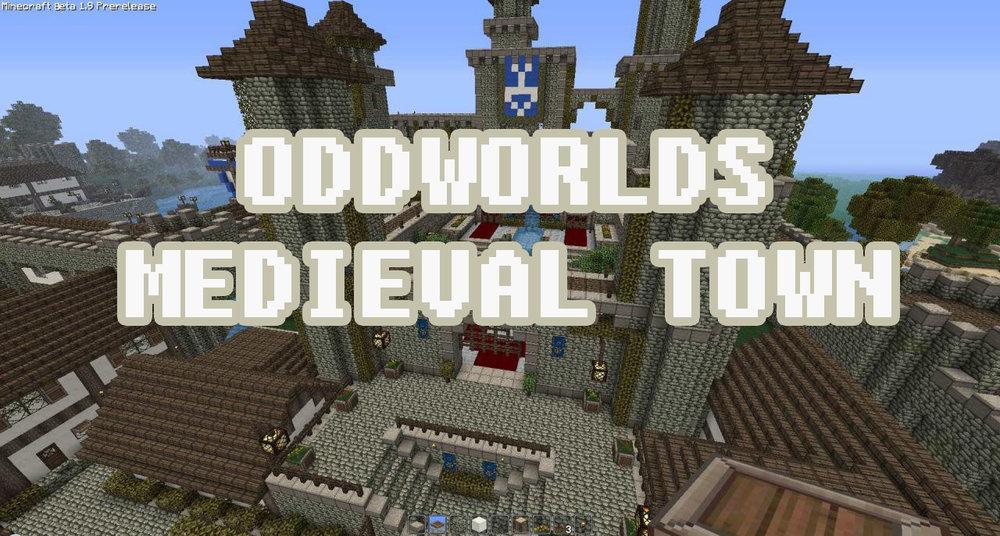 Oddworld's Medieval Town скриншот 1