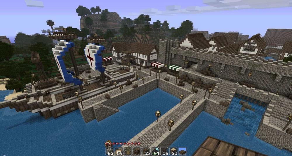 Oddworld's Medieval Town скриншот 2