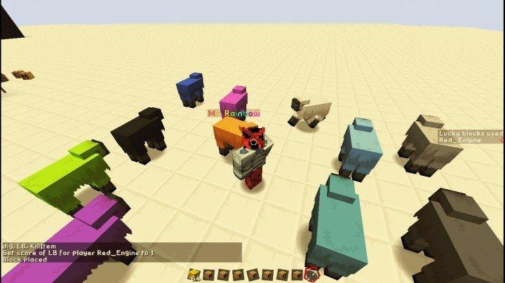 Lucky block V2.0 скриншот 2