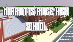 Скачать Marriotts Ridge High School для Minecraft 1.0