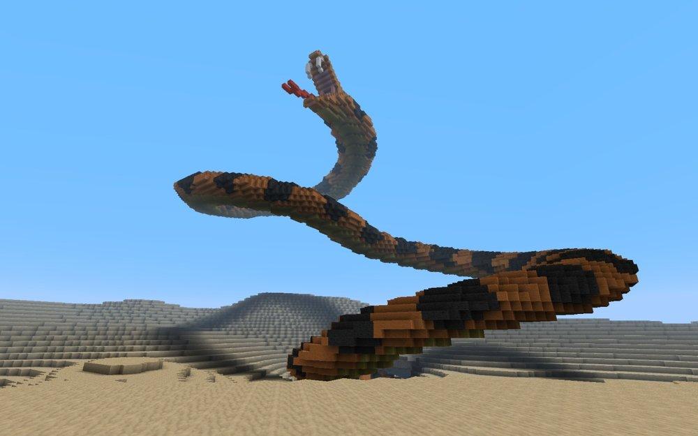 Attacking Snake скриншот 3