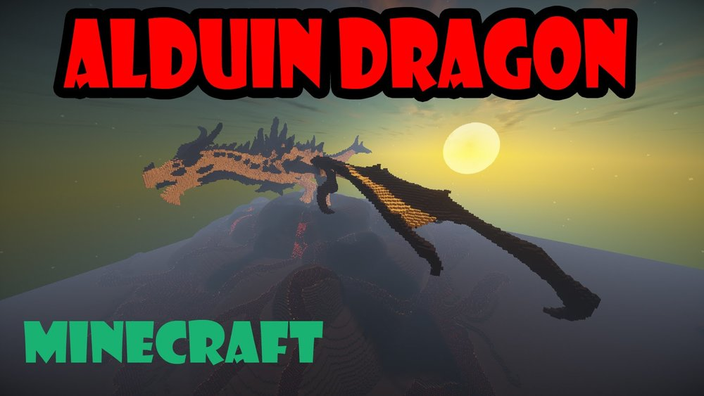 Alduin -Dragon from Skyrim скриншот 1