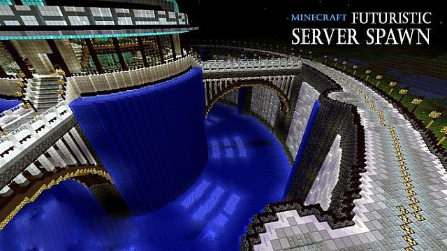 Futuristic Server Spawn скриншот 1