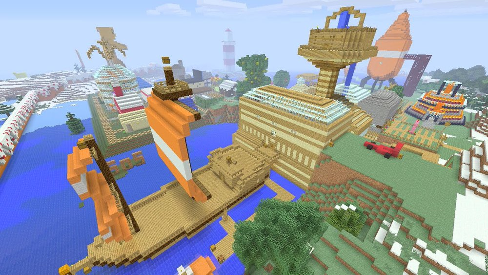 Stampy's lovely world скриншот 2