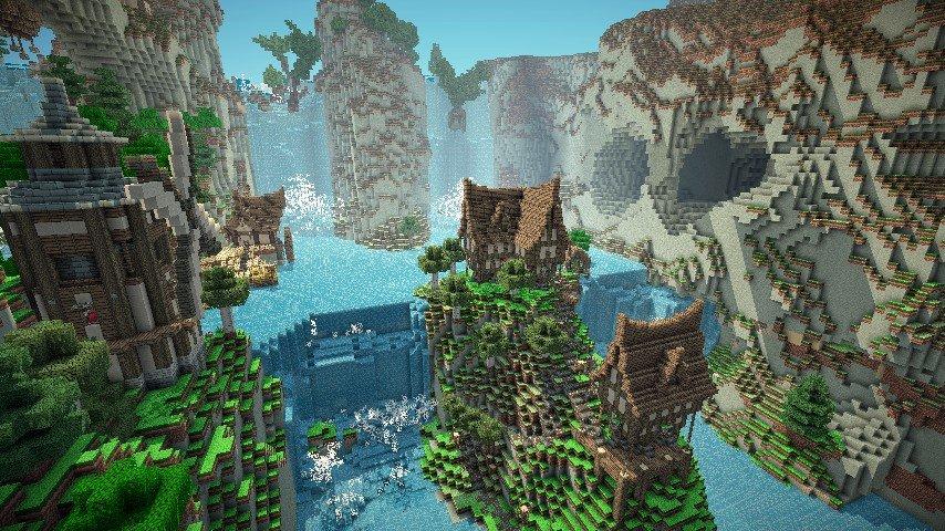 Jorvik The Waterfall Village скриншот 2