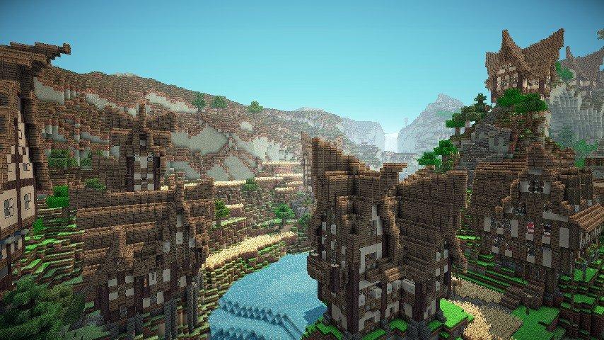 Jorvik The Waterfall Village скриншот 3
