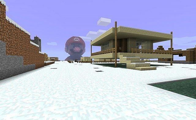 Mario - 80 blocks high скриншот 2