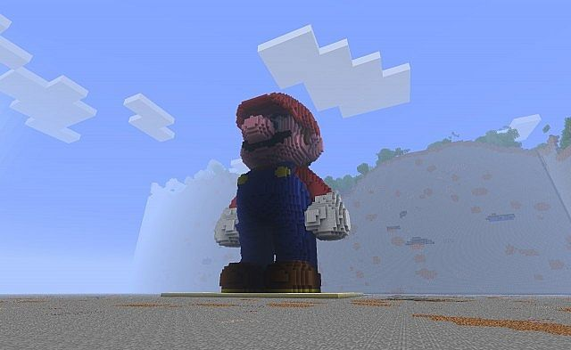 Mario - 80 blocks high скриншот 3