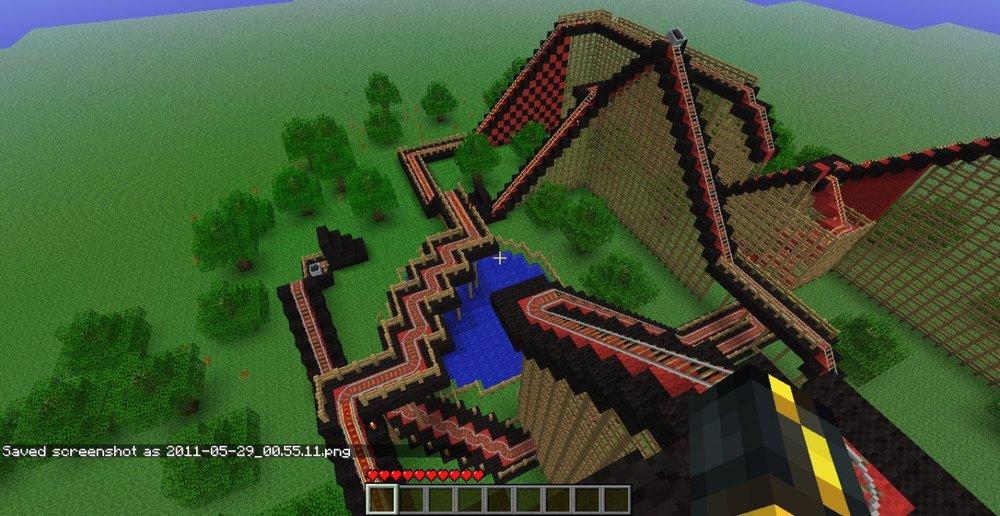 Falcon Flyer Coaster скриншот 3