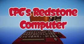 Скачать LPG\'s Redstone Computer для Minecraft 1.8