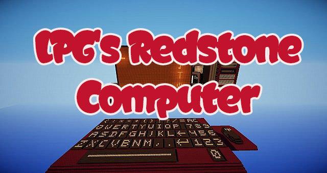 LPG's Redstone Computer скриншот 1