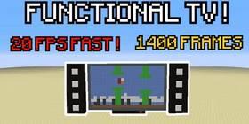 Скачать Colored TV 20 FPS для Minecraft