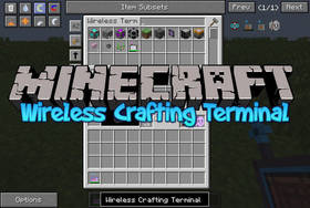 Скачать Wireless Crafting Terminal для Minecraft 1.7.10
