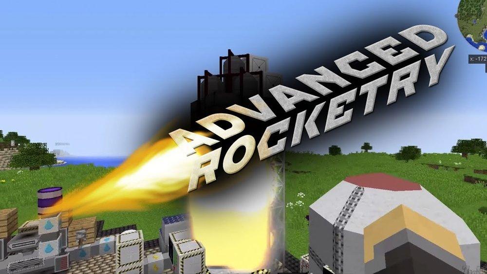 Advanced Rocketry скриншот 1