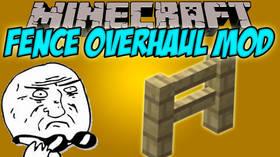 Скачать Fence Overhaul для Minecraft 1.12