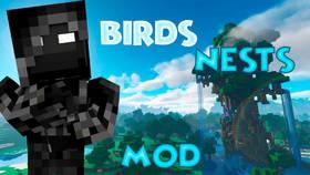 Скачать Birds Nests для Minecraft 1.12