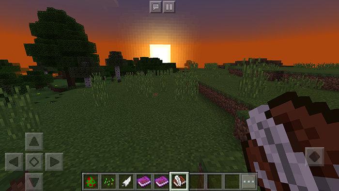 Книга с первом в Minecraft PE 1.2