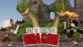 Скачать How to train your dragon для Minecraft 1.12.2