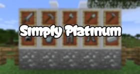 Скачать Simply Platinum для Minecraft 1.12.2
