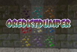 Скачать OreDictDumper для Minecraft 1.12.2