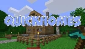 Скачать QuickHomes для Minecraft 1.12.2