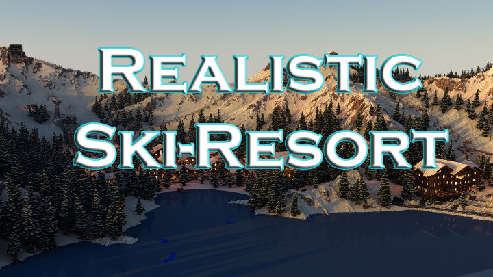 Realistic Ski-Resort скриншот 1