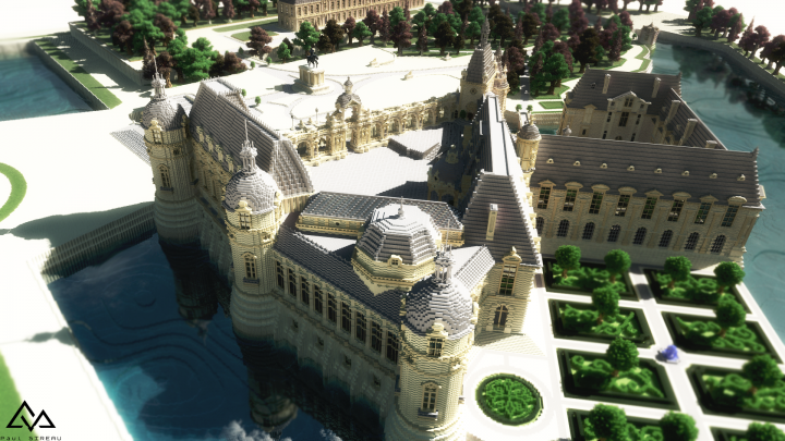 Chateau de Chantilly скриншот 3