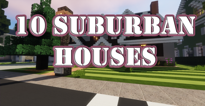 10 Suburban Houses скриншот 1