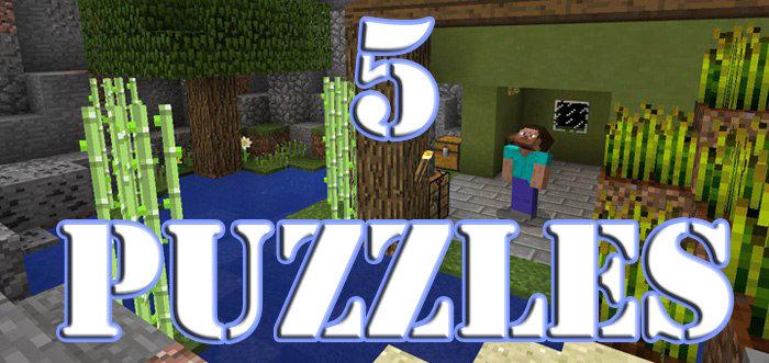 5 puzzles скриншот 1