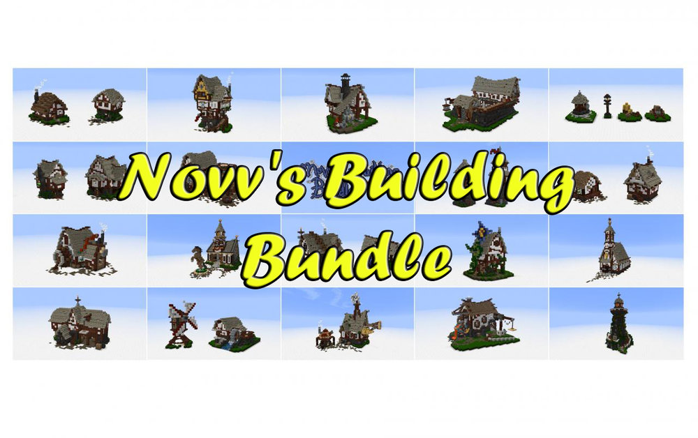 Novv's Building Bundle скриншот 1