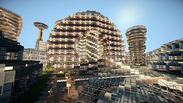 Futuristic City - Area 73-5 скриншот 2