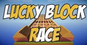 Скачать Lucky Block Race для Minecraft 1.8