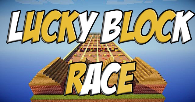 Lucky Block Race скриншот 1