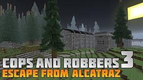 Скачать Cops and Robbers 3: Escape from Alcatraz для Minecraft