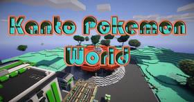 Скачать Kanto Pokemon World для Minecraft