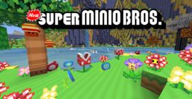 Скачать New Super Minio Bros для Minecraft 1.12.2