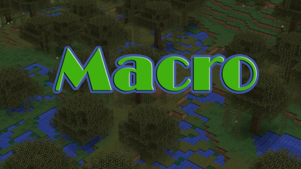 Macro скриншот 1