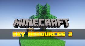 Скачать Sky Resources 2 для Minecraft 1.12