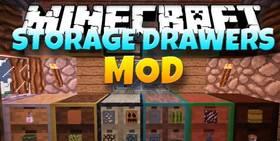 Скачать Storage Drawers для Minecraft 1.12