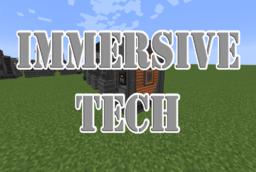 Скачать Immersive Tech для Minecraft 1.12.2