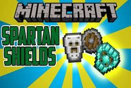 Скачать Spartan Shields для Minecraft 1.11