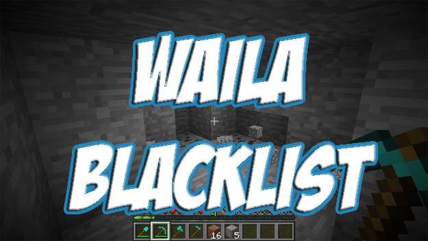 WAILA Blacklist скриншот 1