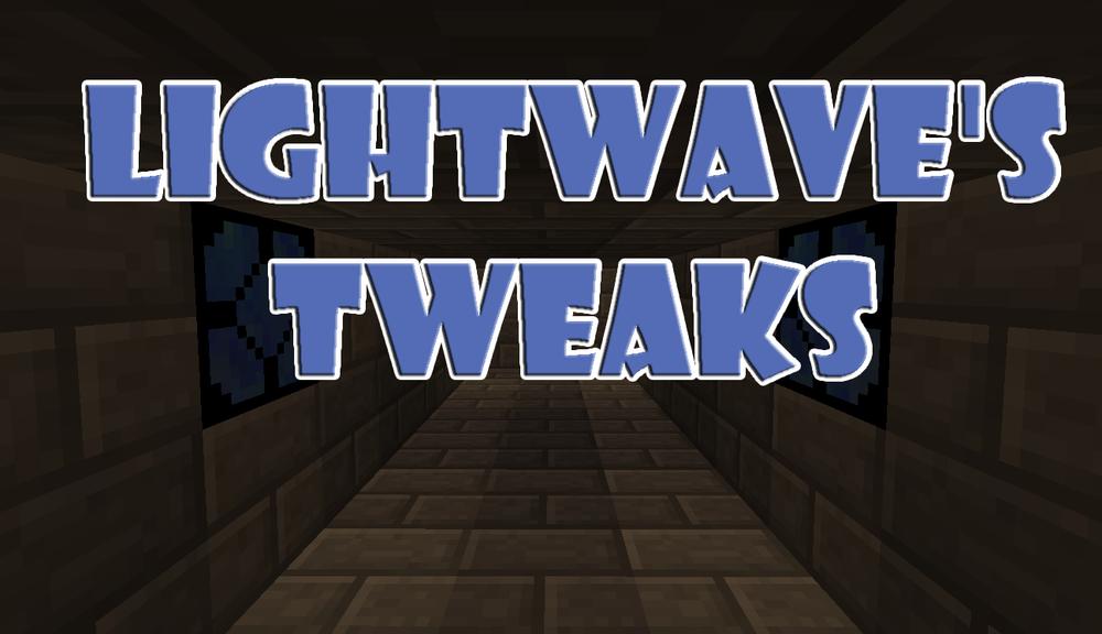 Lightwave's Tweaks скриншот 1